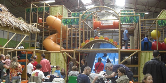 For rainy days, the kids will love FunCity
