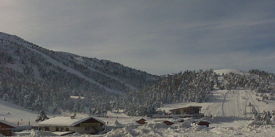 Greolieres les Neiges offers ski, cross-country ski, sledge, snowshoes etc... between 1400m and 1800m